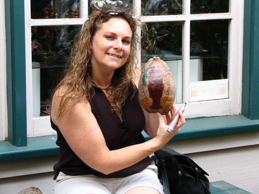 Decorating Coconuts