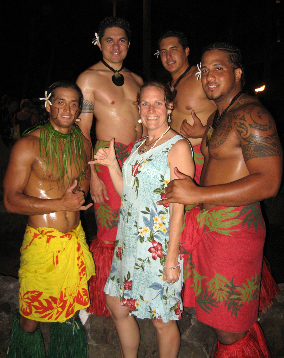 Bridget and the Luau Boys