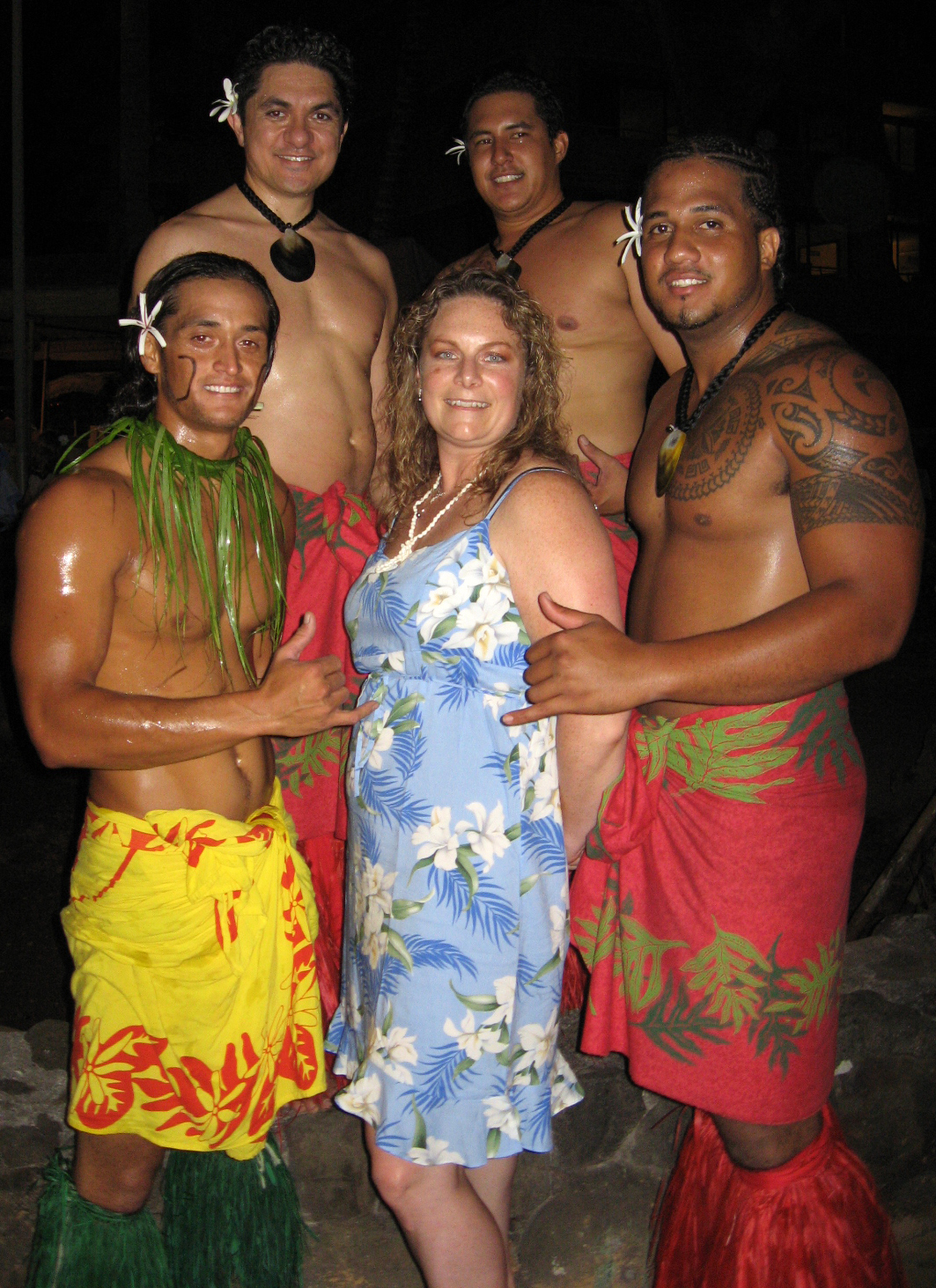 Me and the Luau Boys