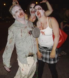 Nailed Zombie